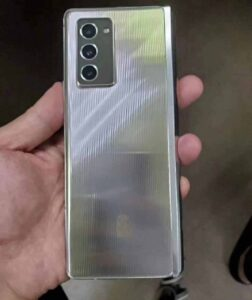 Samsung Galaxy W21 5G real live images